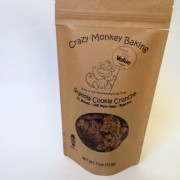 Crazy Monkey granola packaging featured at Walmart's Sustainability Exp