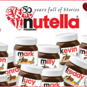 Digital Printing - Nutella